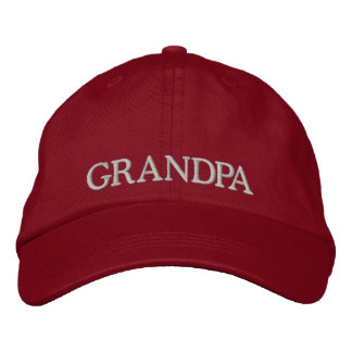 Gorra bordado del abuelo gorra de béisbol