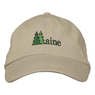 Gorra bordado del árbol de pino de Maine Gorra De Béisbol Bordada