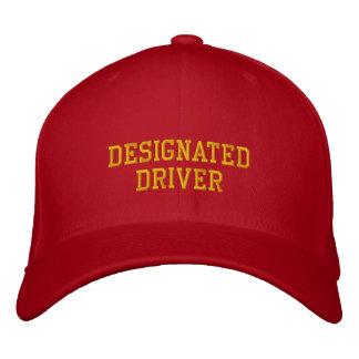 Gorra bordado del conductor señalado gorra bordada