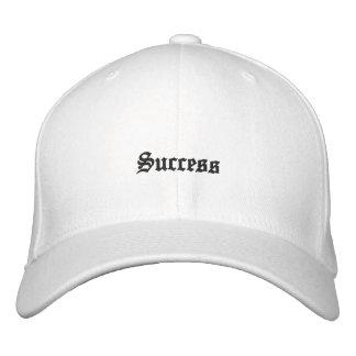 "Gorra bordado del ""éxito"" gorras de beisbol bordadas"