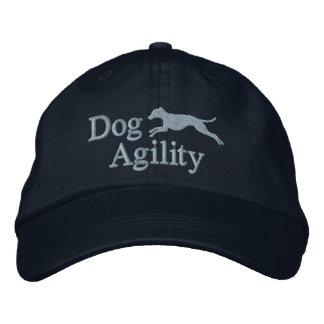 Gorra bordado del galgo italiano de la agilidad (a gorra de béisbol