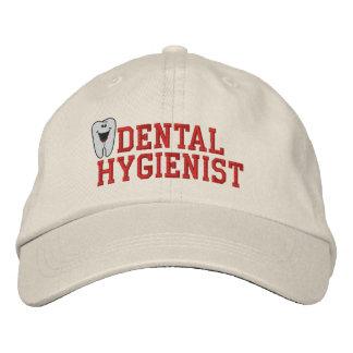 Gorra bordado del higienista dental gorros bordados