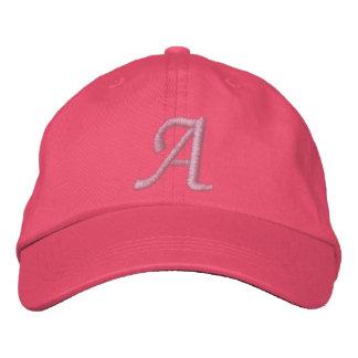 Gorra bordado del monograma gorras bordadas
