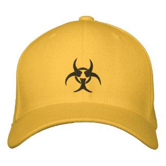 Gorra bordado del símbolo del Biohazard Gorra De Béisbol