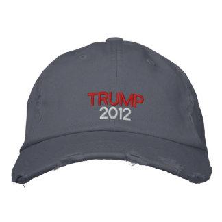 Gorra bordado del triunfo 2012 gorras de béisbol bordadas
