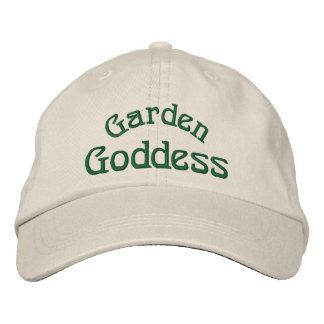Gorra bordado divertido de la diosa del jardín gorras bordadas