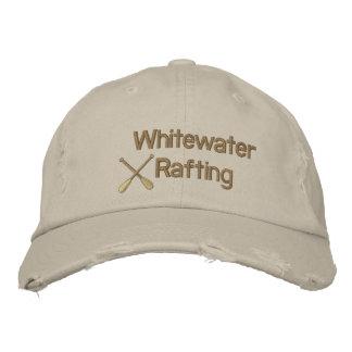 Gorra bordado el transportar en balsa de Whitewate Gorro Bordado