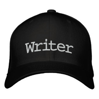 Gorra bordado escritor gorra de béisbol bordada