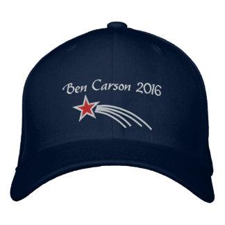 Gorra bordado estrella fugaz de Ben Carson 2016 Gorras De Béisbol Bordadas