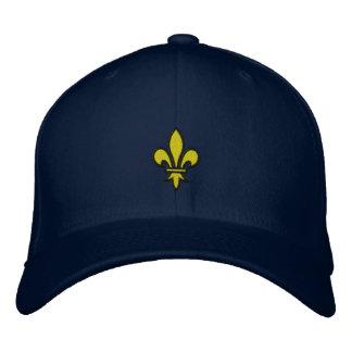 Gorra bordado flor de lis gorra de béisbol bordada