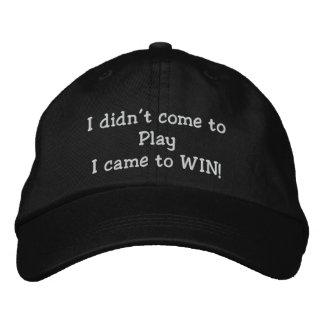 Gorra bordado gorra del póker de la gorra de béisb gorras de beisbol bordadas
