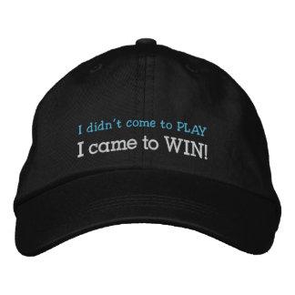Gorra bordado gorra del póker de la gorra de béisb gorros bordados