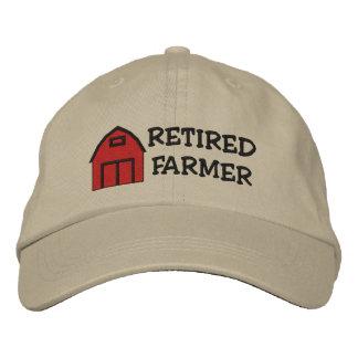 Gorra bordado granjero jubilado gorra de béisbol