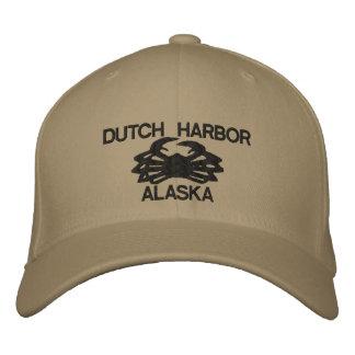 Gorra bordado holandés de rey cangrejo de Alaska Gorras De Beisbol Bordadas