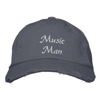 Gorra bordado hombre de la música gorra de béisbol