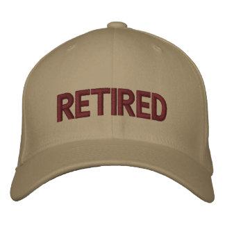 Gorra bordado jubilado gorra de béisbol
