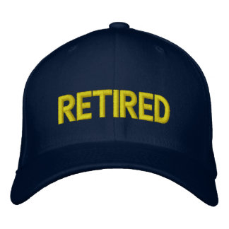 Browse the Retirement Hats Collection and personalize by color, design, or style.