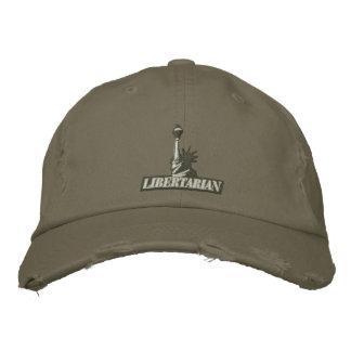 Gorra bordado libertario gorra bordada