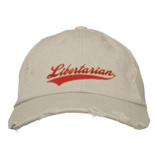 Gorra bordado libertario gorras de beisbol bordadas