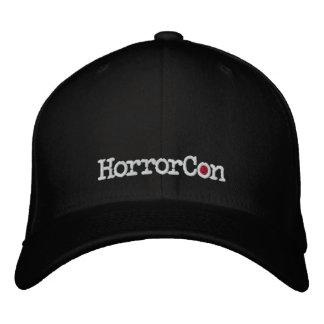Gorra bordado logotipo de HorrorCon Flexfit Gorra Bordada