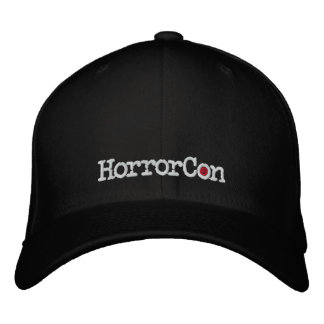 Gorra bordado logotipo de HorrorCon Flexfit Gorra De Béisbol
