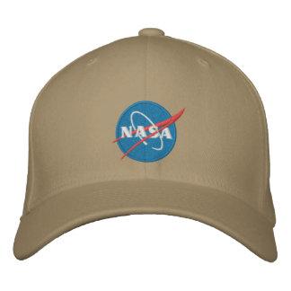 Gorra bordado logotipo de la NASA Gorra De Beisbol Bordada
