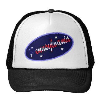 Gorra bordado los E.E.U.U. del efecto de Pennsylva