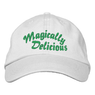 Gorra bordado mágico delicioso gorra bordada
