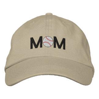 Gorra bordado mamá del béisbol gorra de béisbol bordada