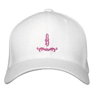 Gorra bordado monograma rosado gorro bordado