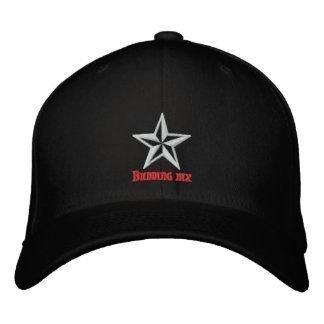 Gorra bordado MX de florecimiento de la estrella Gorros Bordados