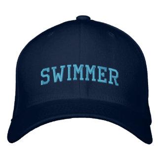 Gorra bordado nadador gorra bordada