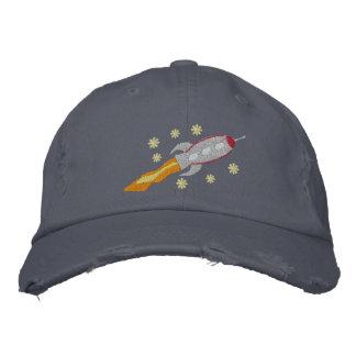 Gorra bordado nave espacial gorras bordadas