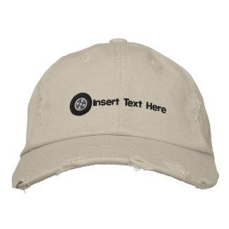 Gorra bordado neumático de encargo gorra de béisbol bordada