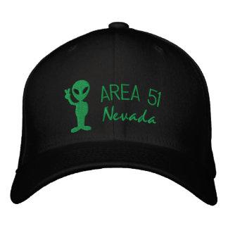 Gorra bordado Nevada del área 51 Gorras De Béisbol Bordadas