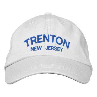 Gorra bordado New Jersey de Trenton Gorra Bordada