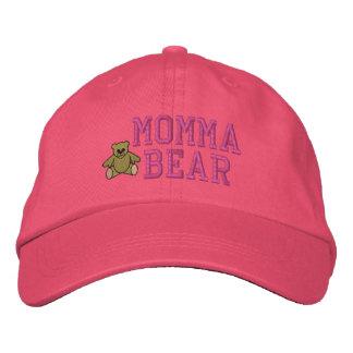 Gorra bordado oso de Momma de las madres Gorra Bordada