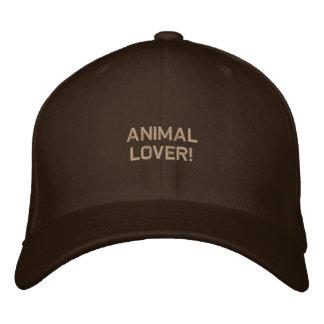 Gorra bordado partidario de la fauna gorro bordado