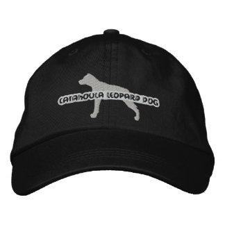 Gorra bordado perro del leopardo de Catahoula de l Gorra De Béisbol Bordada