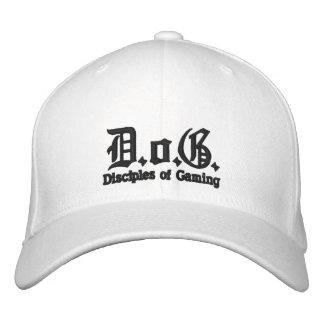 Gorra bordado perro del logotipo gorra de béisbol