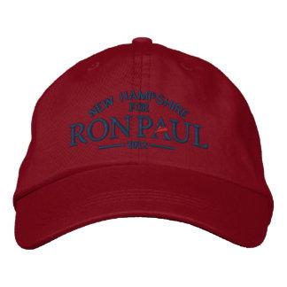Gorra bordado personalizable de Ron Paul Gorras De Béisbol Bordadas