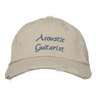 Gorra bordado personalizado acústico del gorras de béisbol bordadas