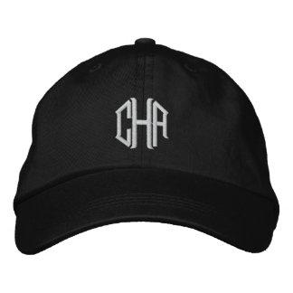 Gorra bordado personalizado con su monograma gorra de beisbol
