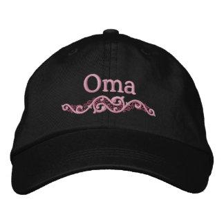 Gorra bordado personalizado de la abuela de Oma Gorras De Béisbol Bordadas