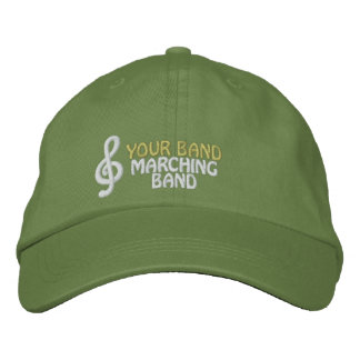 Gorra bordado personalizado de la banda gorras bordadas