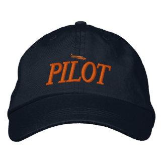 Gorra bordado piloto del aeroplano gorra de béisbol