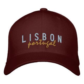 Gorra bordado Portugal de LISBOA Gorra De Beisbol