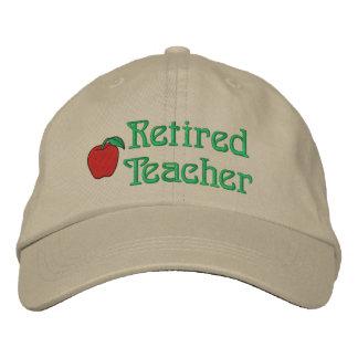 Gorra bordado profesor jubilado gorra bordada