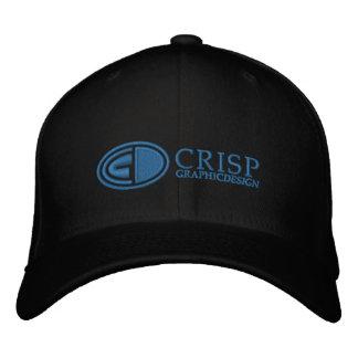 Gorra bordado quebradizo del logotipo del diseño g gorra de béisbol bordada