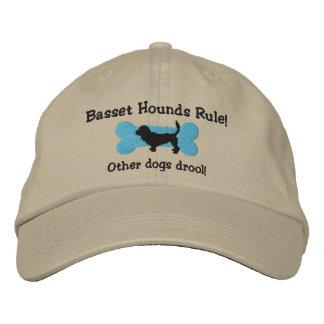 Gorra bordado regla de los perros de afloramiento gorra bordada